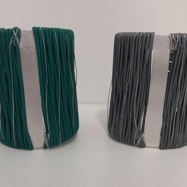braceletes prata